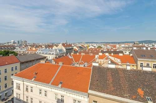 ++NEU** BESTLAGE: 3-Zimmer DG-Maisonette mit Balkon und Dachterrasse!!