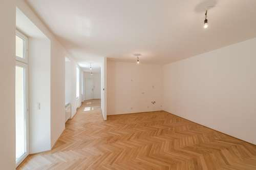 ++NEU++ 3,5 Zimmer Altbau-ERSTBEZUG an der Donau mit 9m² hofseitigem Balkon!!