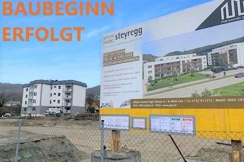 Steyregg: PENTHOUSE mit ca. 93 m2 + ca. 82 m2 Terrasse im WOHNPARK Steyregg - Eine Symbiose aus Stadt. Land. Fluss