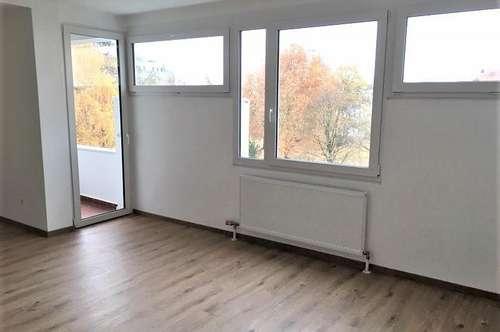 Linz/Stadt: NEU SANIERTE ca. 32m² große Garconniere mit LOGGIA