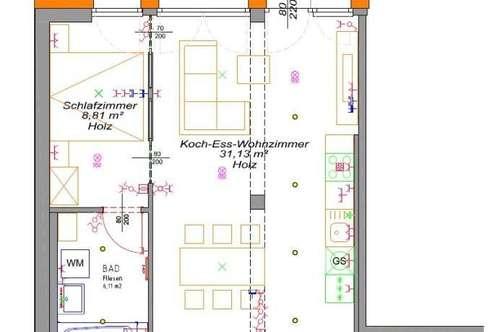 Linz/Neue Heimat (Siemensstraße): Ca. 55m² mit 2 Zimmer + BALKON