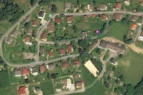 ZWETTL an der Rodl: Baugrundstück ca. 749 m2 im Herzen des Mühlviertels