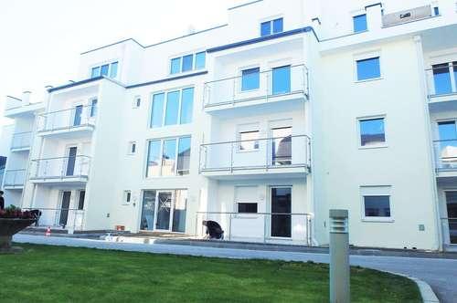 MÖDLING - 75 m² NEUBAUWOHNUNG MIT PRAKTISCHEM GRUNDRISS, KÜCHE + 2 LOGGIAS (MIETPREIS INKLUSIVE HEIZUNG)