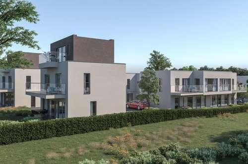 Nähe Einkaufszentrum G3 und S1! Im Herzen des Weinviertels! Designereinfamilienhaus mit Carport und großer Terrasse!!