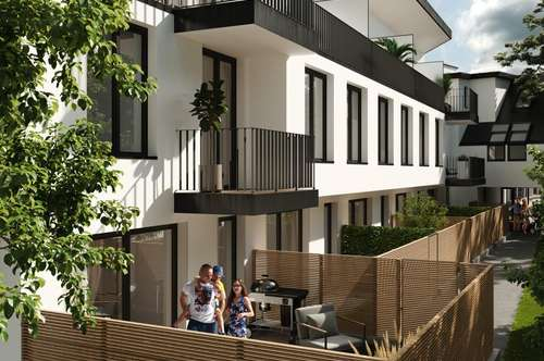 FERTIGSTELLUNG 08/19! Modernes 4-Zimmer Reihenhaus auf Eigengrund! 2 Badezimmer! Außenflächen! Innovative Planung! Urbanes Wohnen in der schönsten Lage Oberlaas