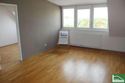 2 getrennt begehbare Schlafzimmer! Helle-DG-Wohnung! Herausragende Infrastruktur! Terrasse in den Innenhof!