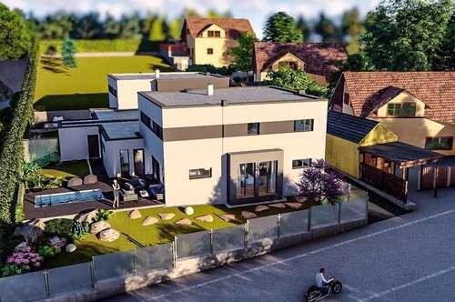 Neues Doppelhauswohnjuwel in Hagenbrunn mit Pool und Garage!