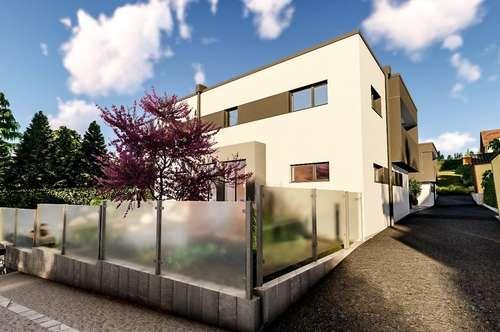 WOHNTRAUM in Hagenbrunn - neben Weinreben und malerischer Landschaft - Doppelhaus mit Pool+Garage
