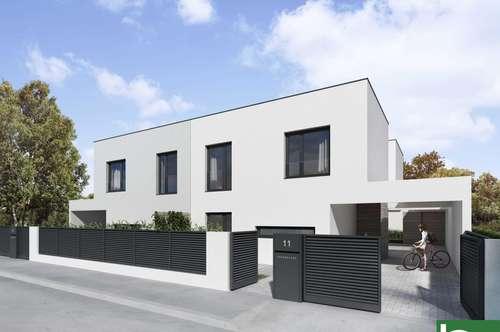 Designerhaus ab sofort verfügbar! Luftwärmepumpe/Fußbodenheizung! zwei Terrassen/Garten! Nähe Bahnhof