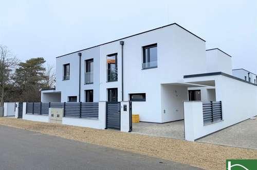 SCHÖNER MASSIVBAU! Zwei Terrassen und Carport! Schlüsselfertig mit hochwertiger Ausstattung - ERSTBEZUG