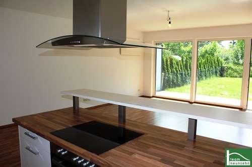Schlagen Sie zu! Idyllische Gartenwohnung - Offener Wohnküchenbereich mit Zugang zum Garten - 2 Parkplätze inkl.!!
