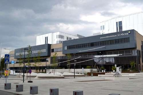 Maximales Wohngefühl! Provisionsfreie Erstbezugswohnungen!! Nähe St. Pölten Hauptbahnhof und Universitätsklinikum! RUHELAGE! Voll möblierte Küche! Balkon! Sehr gute Verkehrsanbindung