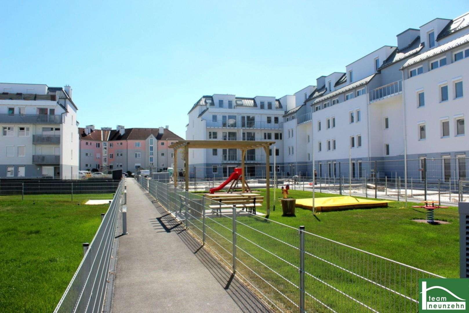City Quartier! Das Beste aus Stadt und Natur! Wohnen im Herzen von Wiener Neustadt! Erstbezugswohnungen!