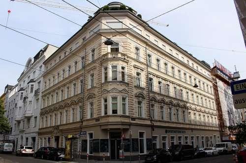 IHRE City Wohnung in bester Lage - Altbau trifft Neubau - Großzügiger Wohnraum mit Balkon in den Hof - Mariahilfer Straße/ Westbahnhof in der Nähe