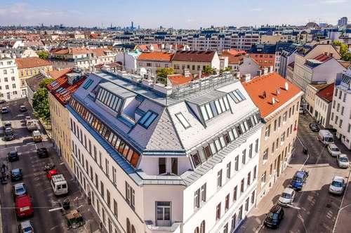 ERSTBEZUG! Traumhafter Dachgeschossausbau! 3 Zimmer mit sonniger Terrasse! Sehr gute Lage! Sehr gute öffentliche Anbindung!