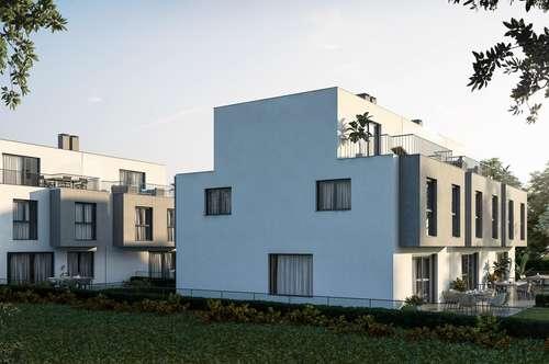 PROVISIONSFREI! Reihenmittelhaus mit Keller, Terrasse und Garten in absoluter Ruhelage! Nähe U2. Grundriss selbst gestalten!
