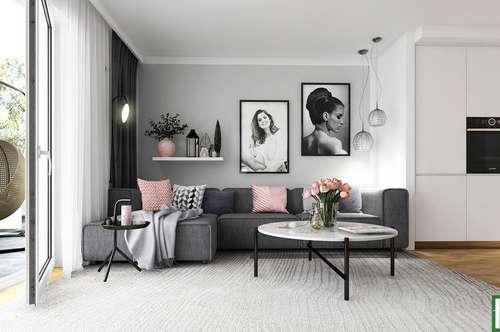 Neubau/Erstbezug - Luxuriöses 4 Zimmer Reihenhaus mit Garten + Loggia + Balkon! Nähe U3!