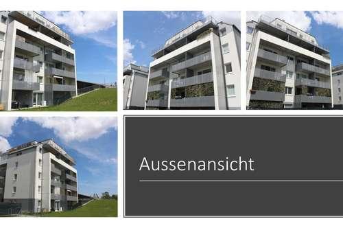 Schöne 2-Zimmer-Wohnung mit riesigem Garten (53m2)! Moderner Neubau! Ab 01.09! Begehrte Lage in St. Pölten!