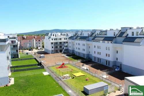 Fußbodenheizung - außenliegender Sonnenschutz!! Im Herzen von Wiener Neustadt - Hochwertige Erstbezugswohnung!