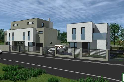 Am Waldrand- Einfamilienhaus mit großer Terrassen, Balkon und Swimmingpool.