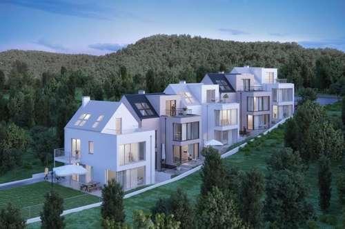 Top Neubauprojekt - KURZ VOR FERTIGSTELLUNG!! 5 Reihenhäuser mit Fernblick, Grünruhelage am Gießhübl auf 410m Seehöhe! 20 min nach Wien!!