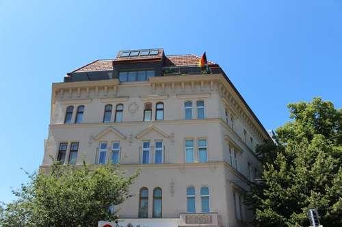 Zentrale Lage mit toller Anbindung! Tolle Ausstattung: Balkon, möblierte Küche, 2 WC! Charmante Maisonettewohnung!