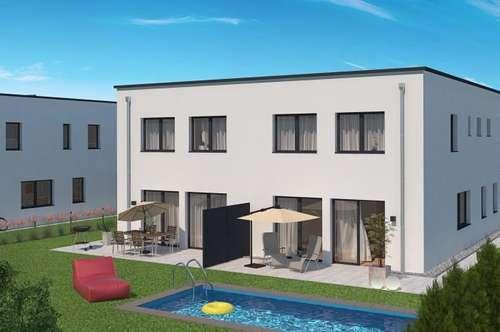 Haus 5 - preiswert - provisionsfrei - Ziegel/Massiv - Luft/Wasser Wärmepumpe – Garten/Terrasse