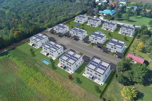 Haus 8 - provisionsfreie DHH in altbewährter Ziegel-Massivbauweise mit großzügigen Freiflächen