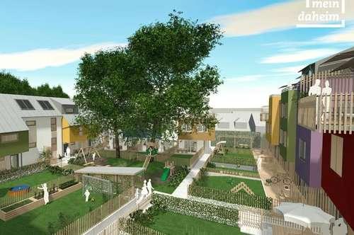 Familienhäuser im Vierkanthof! Top Infrastruktur! Die letzten 2 Häuser!