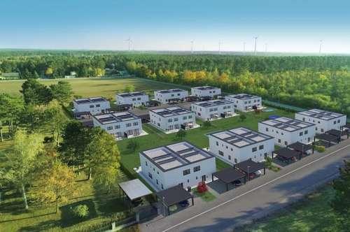provisionsfreie Doppelhäuser mit Luftwärmepumpe/Fußbodenheizung/Terrasse/Garten!