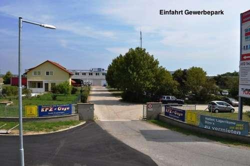 Industriegelände Donnerskirchen! Lager, Werkstatt, Büro, Geschäft! Ab 25€ Netto/Monat! 10min nach Eisenstadt! 10m² - 1500m²!