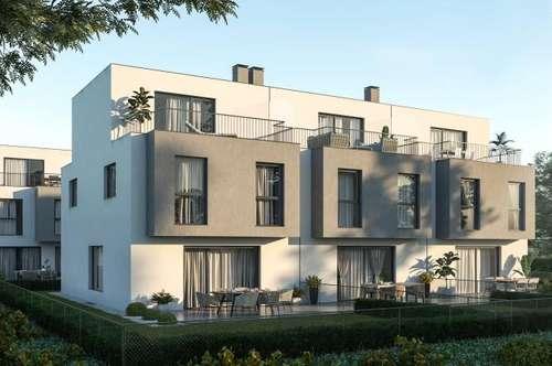 Doppelhaushälfte in absoluter Ruhelage nähe U2 Optimale Lage! Seestadt Aspern! Terrassen und Gärten!