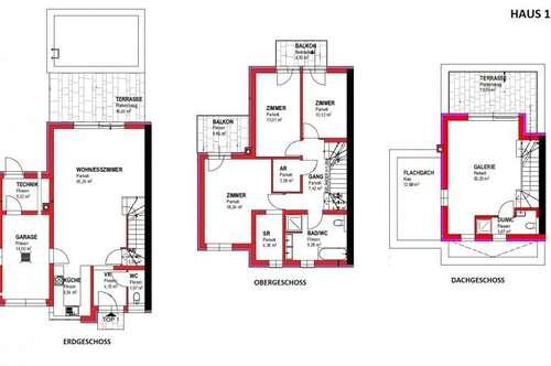 Leben am Riederberg- Designerhaus mit zwei Balkonen und Terrasse, inklusive Pool und Garage . Belagsfertig!