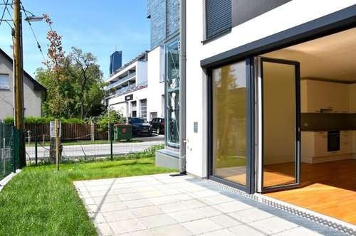 REIHENHAUS an der ALTENDONAU zum ANMIETEN! 4 Zimmer + 2 Terrassen + Garten! möblierte Küche! nahe DONAU-CITY!