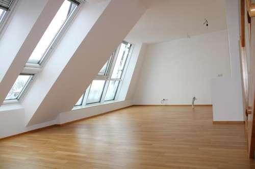 Erstbezug! DG-Maisonette mit Balkon! Toller Ausblick! Familien-Hit! Lift! im Herzen von Korneuburg! Garage!