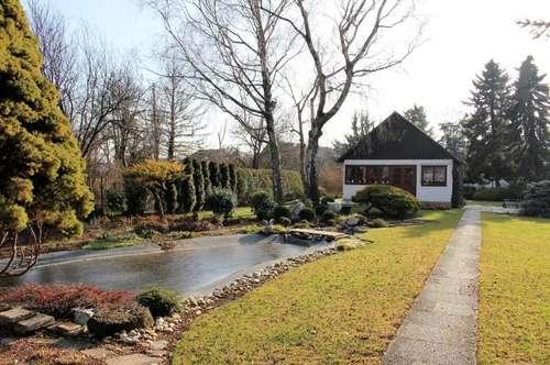 Idyllisches, großes Gartengrundstück in Strebersdorf