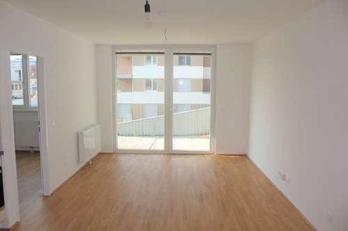 2 Zimmer - mit Balkon! Provisionsfreie Erstbezugswohnungen in Top-Lage! Voll ausgestattete Küche! Begehrte Lage!