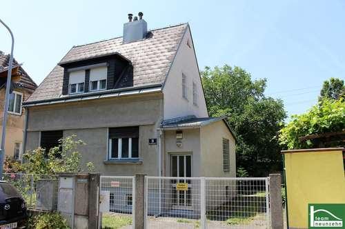 Ihr TRAUM vom Eigenheim - Schöner Garten - Haus mit viel Potential - Liesingbach und Bahnhof Liesing