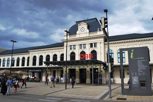 Nahe St. Pölten Hauptbahnhof & Universitätsklinikum! OHNE PROVISION! Voll möblierte Küche! 3 Zimmer mit Balkon! Erstbezugswohnungen in Top-Lage! Sehr gute Infrastruktur!!
