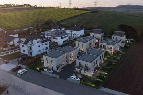 Designerhaus mit 190 m² Nfl. am Waldrand, inkl. Garten, Terrasse und Keller! Nahe Wien, und G3 sowie dem Autobahnknotenpunkt A5/ S1!