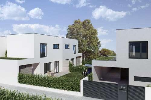 3 Minuten zum Bahnhof- 15 Minuten zur U1 Leopoldau- Designerhaus mit coolem Innenhof und Carport
