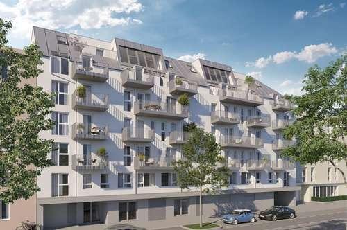 OHNE PROVISION! Neubau in toller Lage - nähe Matznerpark! 2 Zimmer - mit Terrasse! U4!
