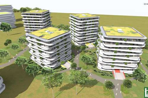 Neubauwohnung im Erstbezug // Die Green City in Graz // ohne Maklerprovision // perfekte Infrastruktur // hochwertige Ausstattung