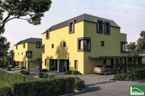 Designerhaus mit Carport, Terrasse und Garten! ERSTBEZUG! Nähe S1/A5 und G3!