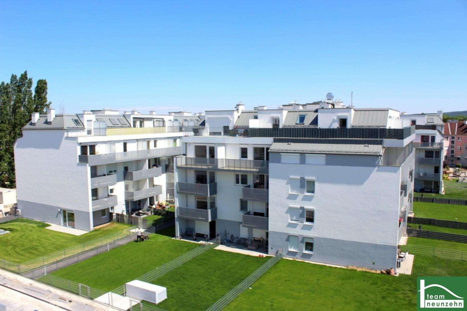 City Quartier! Das Beste aus Stadt und Natur! Wohnen im Herzen von Wiener Neustadt Moderne Erstbezugswohnung!