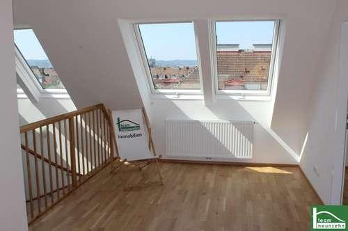 Ruhige Dachgeschoss-Maisonette mit 15m2 Terrasse! Erstbezug! Nähe Hauptbahnhof!