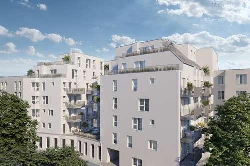 Süd,- Ost,- oder Westseitig? Freie Auswahl im provisionsfreien Neubau! Straßen-, oder hofseitig? Garten, Terrasse oder Balkon? Schöner Erstbezug!!