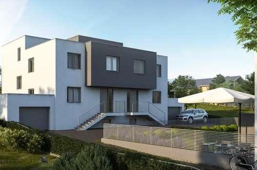 Doppelhaus mit Keller und Terrasse, sowie Garten. Schlüsselfertig. Leben am Land.