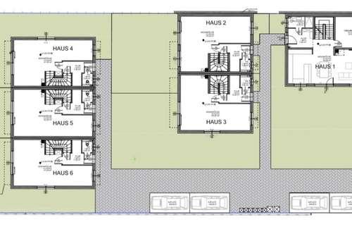 PROVISIONSFREI- Ruhelage- Reihenhaus mit Keller, Terrasse und Garten. Nähe U2