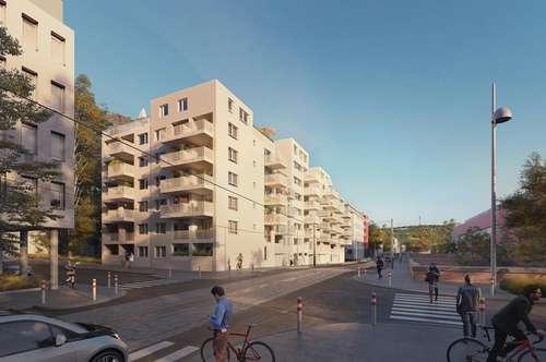 Balkon in Hofruhelage! direkt bei U3! ERSTBEZUG! NEUBAU! Provisionsfrei! TOP-RAUMAUFTEILUNG!
